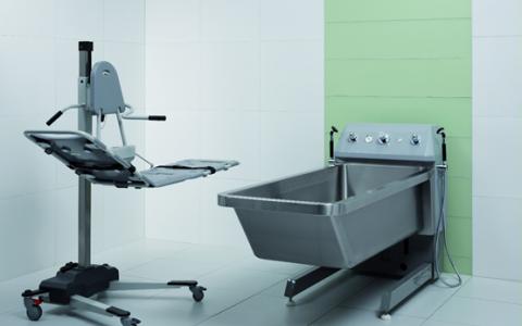Bồn điều trị bỏng nâng hạ cao thấp BURNS TREATMENT BATH